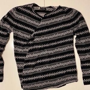 Volcom Black white Cardigan XS/S
